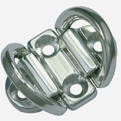 Bainbridge Stainless Steel Double Ring Folding Padeye