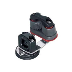 Harken 241 Standard Swivel Base with 365 Carbo Cam-Matic Cleat and Bullseye