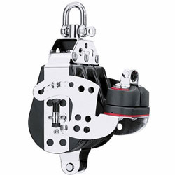 Harken 76 mm Mid-Range Hex ratchet Triple Block
