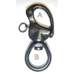 Wichard Tactical Large Bail Snap Shackle