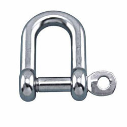 Suncor Straight D Shackle with Captive Pin
