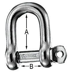 Wichard Standard D Shackle