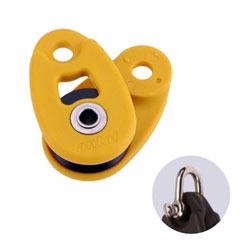Antal 32 mm Snatch Block - Yellow Shackle (included)