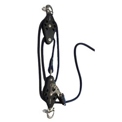 Barton Marine 4:1 Boom Vang System, Snap Shackle Head - Size 3