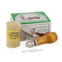Speedy Stitcher Sewing Awl Kit with 194 Yards of Thread