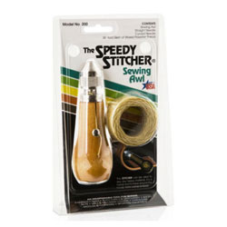 Speedy Stitcher Sewing Awl Kit with 44 Yards of Thread