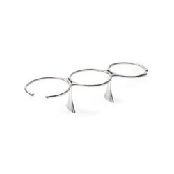 Edson Stainless Three Drink Holder (878ST-3)