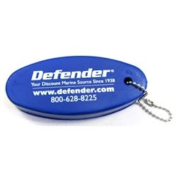 Defender Floating Key Chain