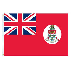 Annin Cayman Islands Courtesy Flag