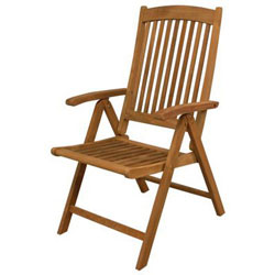 SeaTeak Avalon Folding Deck Chair