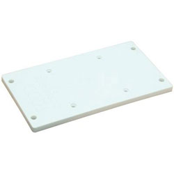 Todd Polyethylene Seat Mounting Plate