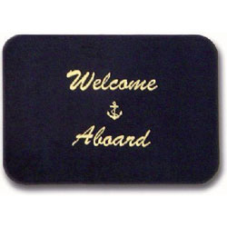 Cape Hatteras Welcome Aboard Mat