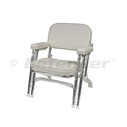 Wise Folding Aluminum Double Leg Deck Chair