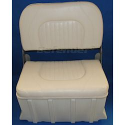 Defender Cushioned Bench Seat with Backrest for Inflatable Boats