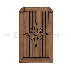 EUDE Nautic Star Teak Table - Balcony