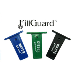 FillGuard Deck Fill Protection Devices - 3 Pc Diesel Set