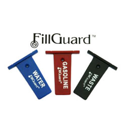 FillGuard Deck Fill Protection Devices - 3 Pc Gasoline Set