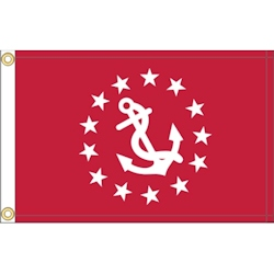 Annin Yacht Club Officer's Flag - Vice Commodore