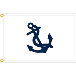 Annin Yacht Club Officer's Flag - Fleet Captain