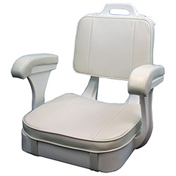 Todd Hatteras Ladderback Seat with Cushions