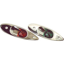 Whitecap Port & Starboard Navigation Light Pair (S-918)