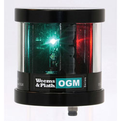 Weems & Plath OGM Series LED Tri-Color Anchor / Strobe Navigation Light