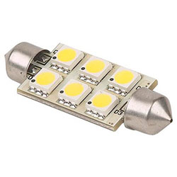 Imtra Festoon Base LED Replacement Bulb - White