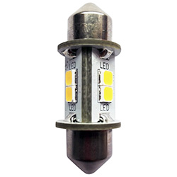 Dr. LED 28 - 31 mm White Festoon Star Navigation LED Replacement Bulb