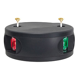 Aqua Signal Series 33 LED Bi-Color Navigation Light - 12 Volt