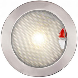 Hella marine EuroLED Touch 150 Downlight with Switch / Dimming - Exterior