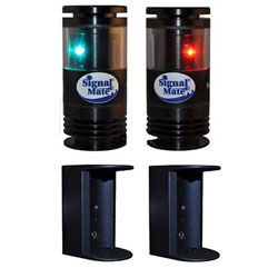 Signal Mate Port & Starboard LED Navigation Light Set - Pair - 2NM