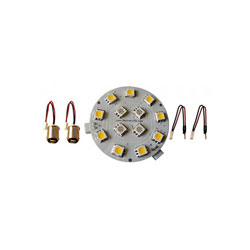 Dr. LED Red / White Dome Light LED 2-Bulb Conversion Kit
