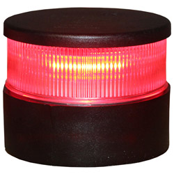 Aqua Signal Series 34 LED All-Round Navigation Light - Red Light