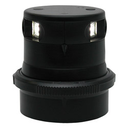 Aqua Signal Series 34 LED Masthead Navigation Light - Black