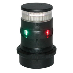 Aqua Signal Series 34 LED Tri-Color Navigation / Anchor Light