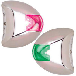Perko Stealth Series LED Port & Starboard Navigation Light Pair