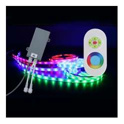 Scandvik RGB LED Flex-Strip Kit - 16 ft. with RF Remote Control - Exterior