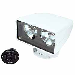 Jabsco 255SL Twin Sealed Beam Remote Control Searchlight - 12 Volt DC
