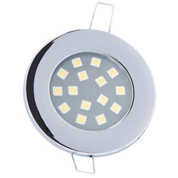 Mast Products 15-Chip LED Ceiling Light - Interior - Chrome Finish