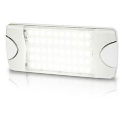 Hella White LED DuraLED 50LP Lamp - Spread