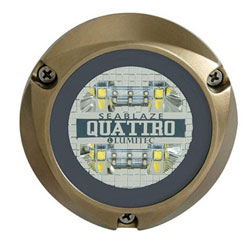 Lumitec SeaBlaze Quattro Underwater Light