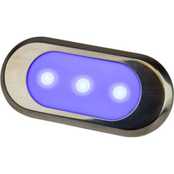 Sea-Dog LED Surface Mount Courtesy Light - Blue