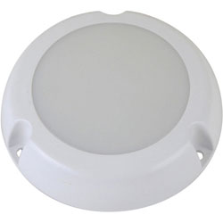 Scandvik Round LED Courtesy Lamp - Exterior