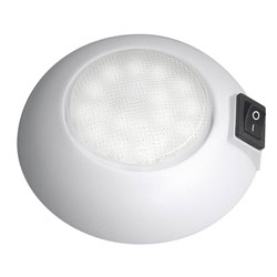MARINE BOAT WHITE LED COURTESY LIGHT SURFACE MOUNT 2 Lights