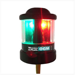 Weems & Plath OGM Series Series Q Collection TriColor / Anchor Nav Light