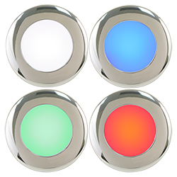 Scandvik 4-Color LED Down / Dome Light