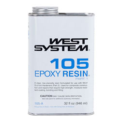 West System 105 Epoxy Resin - Quart