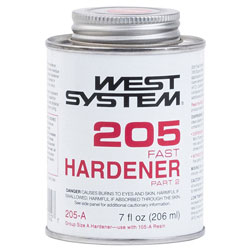 West System 205 Fast Hardener - 7 Ounces
