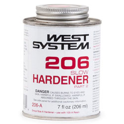 West System 206 Slow Hardener - 7 Ounces