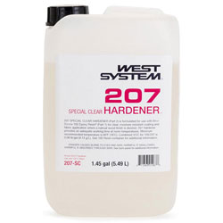West System 207 Special Clear Hardener - 1.45 Gallons